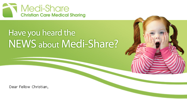 Have you heard the news about Medi-Share?